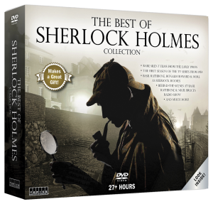 Sherlock Holmes 12-Disc Set - 3D Cover Art (Transparent)